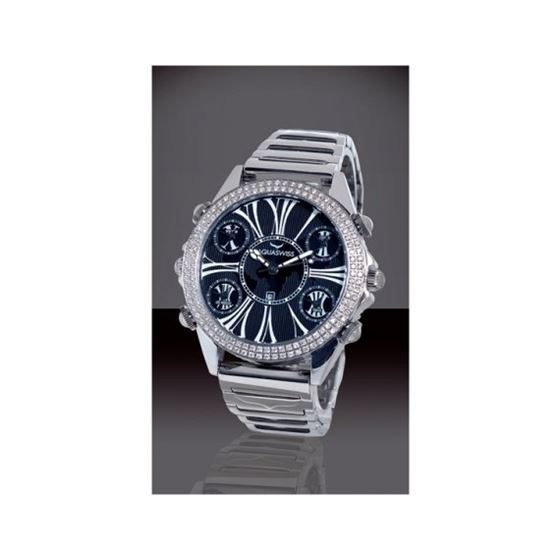 Aqua Swiss Diablo Diamond Watch DB243