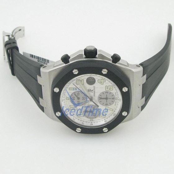 Audemars Piguet Offshore White Dial Chronograph Mens Watch 25940SK.OO.D002CA.02 3
