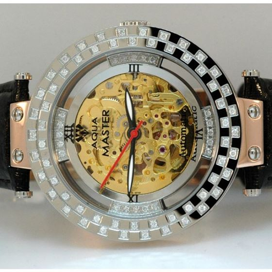 Aqua Master Mens Diamond Watch am1 3