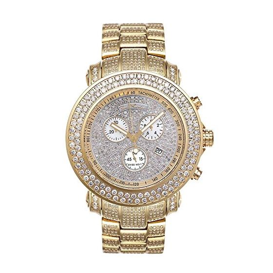 Iced Out Watches Junior Diamond Watch 19.25