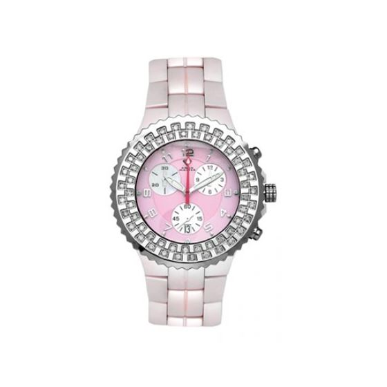 Aqua Master Unisex Ceramic Diamond Watch 12-3W