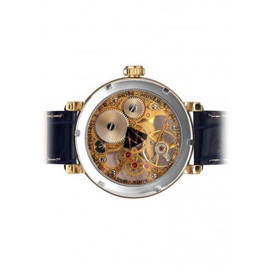 Aqua Master Mechanical Skeleton Diamond Watch W #203-2 3