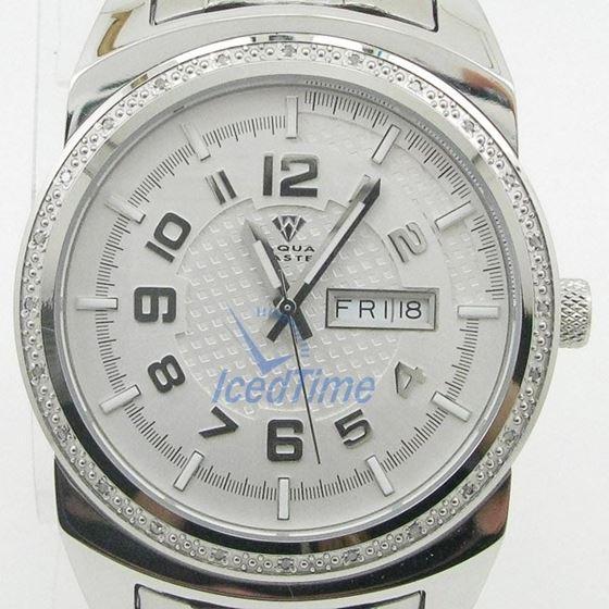 Mens Aqua Master Iced Out Diamond Watch W335AQ2 1