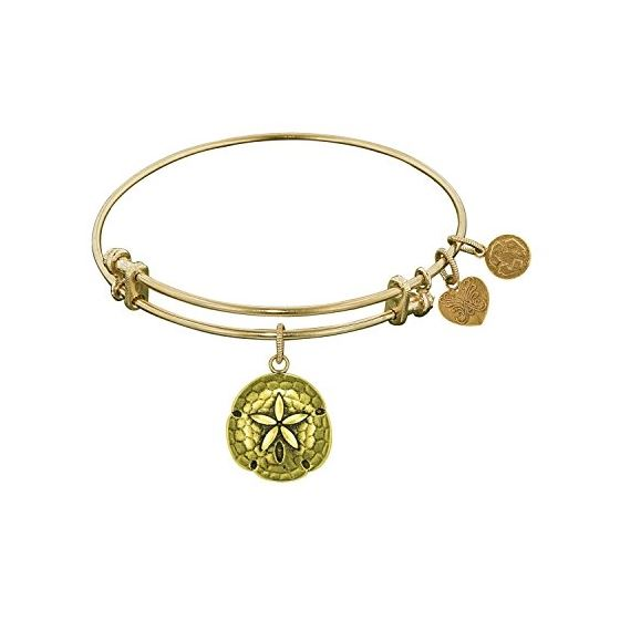 Angelica Ladies Nautical Collection Bangle Charm 7.25 Inches (Adjustable) GEL1105