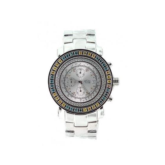 Freeze Watch - 2.75ctw Color Diamond Bezel