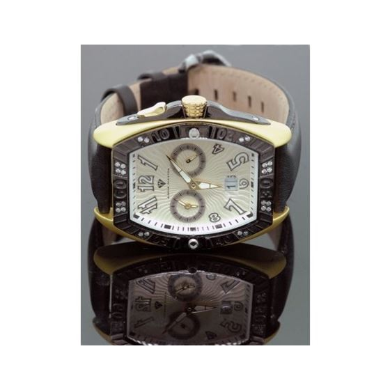 Aqua Master Tonneau 0.50ctw Mens Diamond Watch W315-1