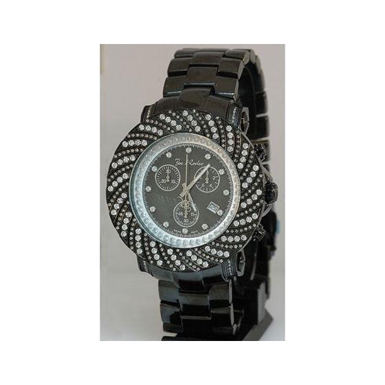 Joe Rodeo Watches: Mens Junior Diamond Watch 4.25 Black JJU157 1