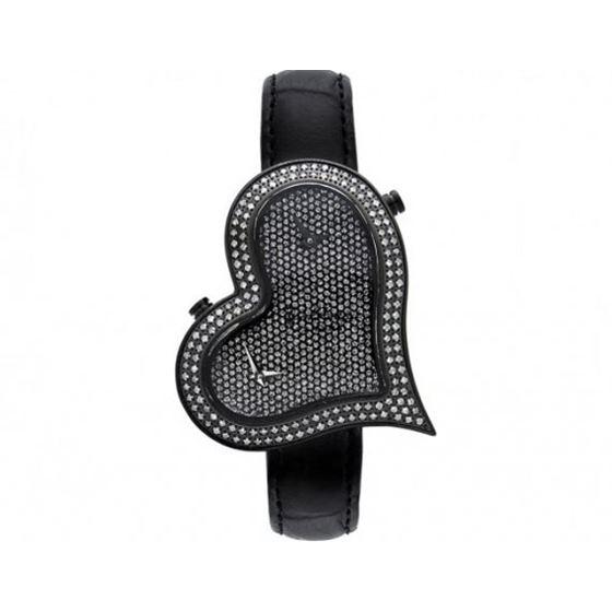 Joe Rodeo Ladies Black Sahara Diamond Watch JRS5