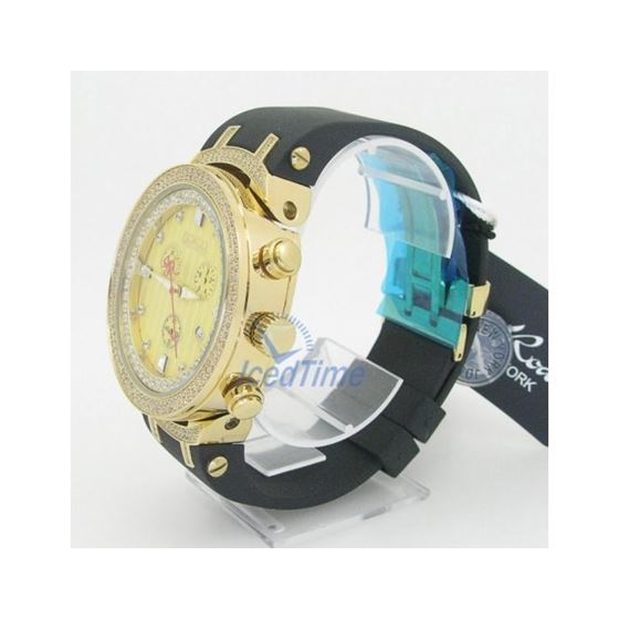 Mens Joe Rodeo Master Diamond Watch JoJo Aqua Jojino Techo Canary Ice Bling Iced JJM94 3
