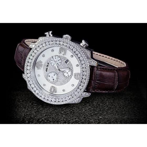 Arctica Watches Arctica 50mm Diamond Case 12.75ct
