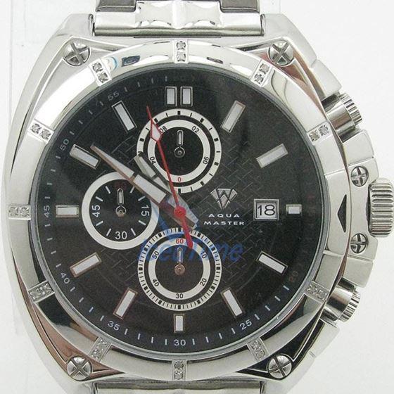 Mens Aqua Master Iced Out Diamond Watch W328AQ8 1