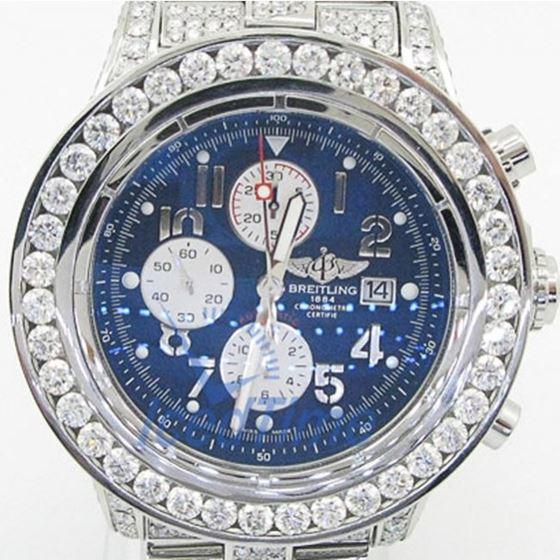 Breitling Super Avenger Chronograph Mens 55386 1