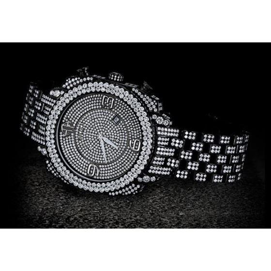 Arctica Watches Arctica 50mm Diamond Case 26.80ct