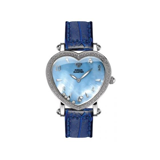 Aqua Master Diamond Watch Aqua Master Ladies Floating Diamond Heart Watches 63-10W