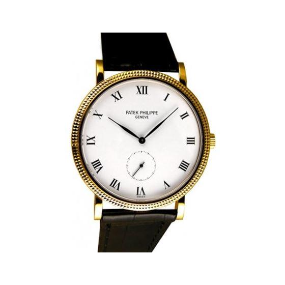 3919J Patek Phillipe Calatrava Mens Wristwatch