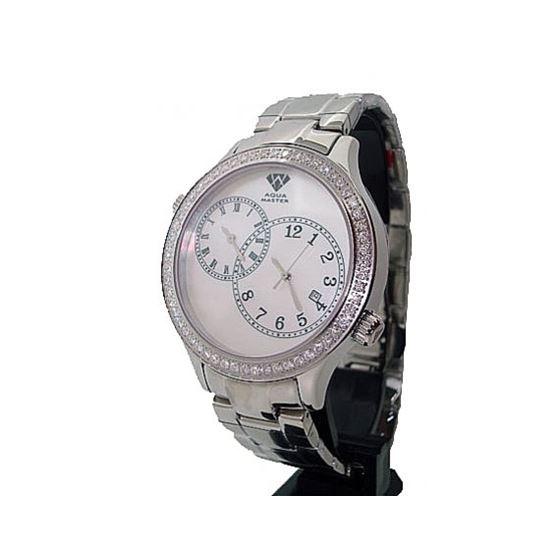 Aqua Master 2.45ctw Mens Diamond Watch AM03