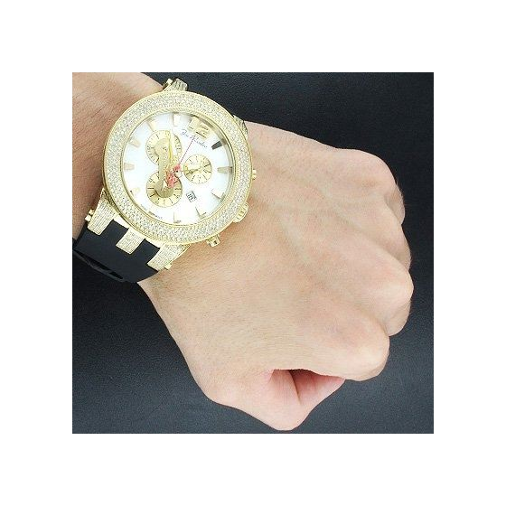 Watches: Broadway Mens Diamond Watch 5.00Ct-3