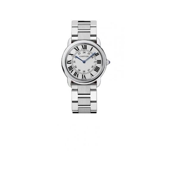 Cartier Tank Solo Quartz Mens Watch W6701005