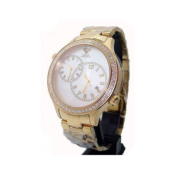 Aqua Master 2.45ctw Mens Diamond Watch AM05